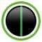 Metallic Matt Carbon Gray / Lime Green